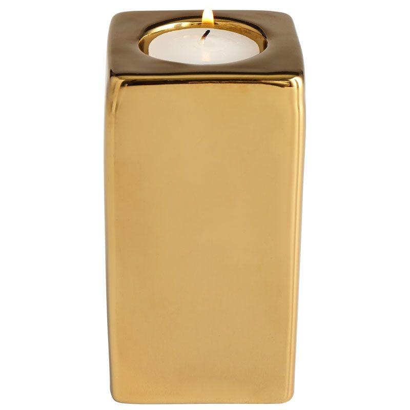 Cyan Design Medium Etta Candle Holder Etta 4.75 Inch Tall Ceramic and