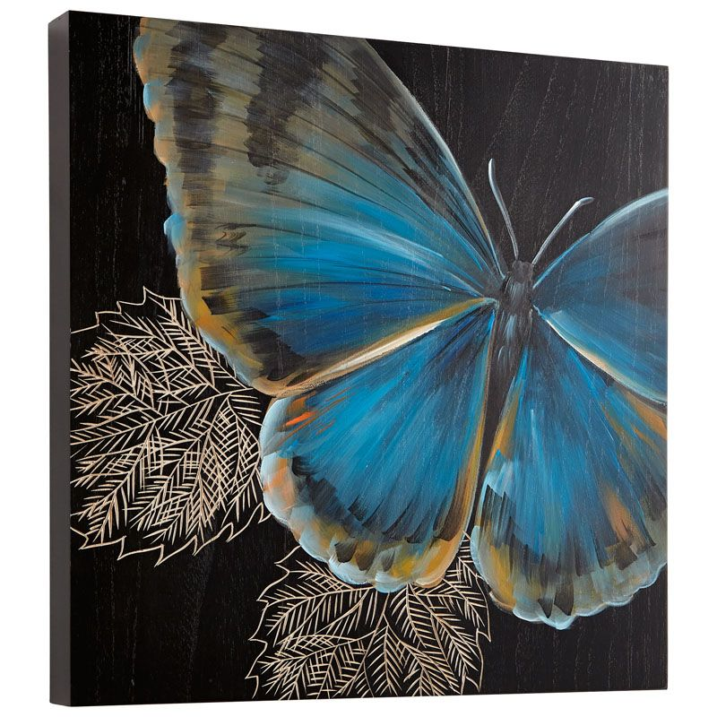 Cyan Design Mariposa Wall Art Mariposa 15.75 x 15.75 Wood Wall Art
