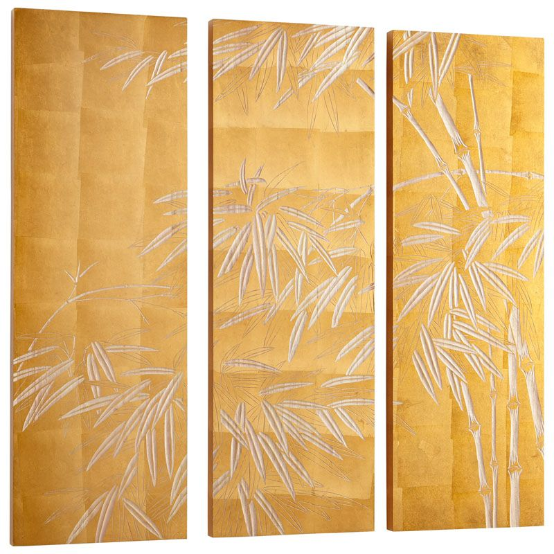 Cyan Design Oceania Wall Art Oceania 47.25 x 47.25 Wood Wall Art Amber