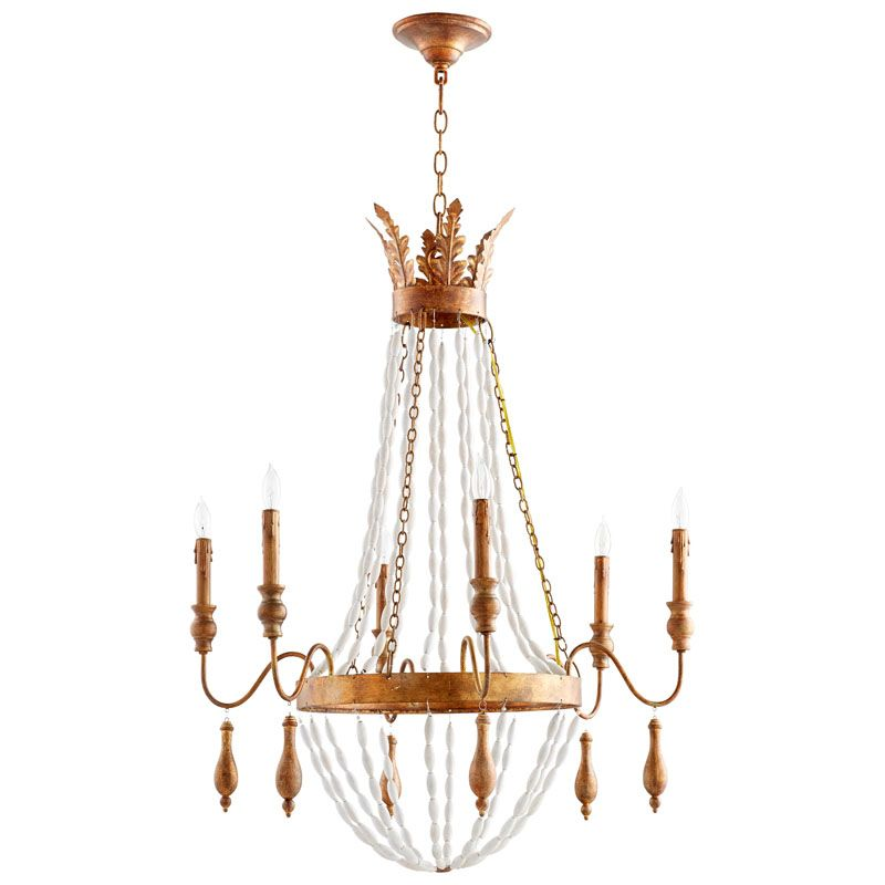 Cyan Design Alexandra Six Light Chandelier Alexandra 6 Light 1 Tier