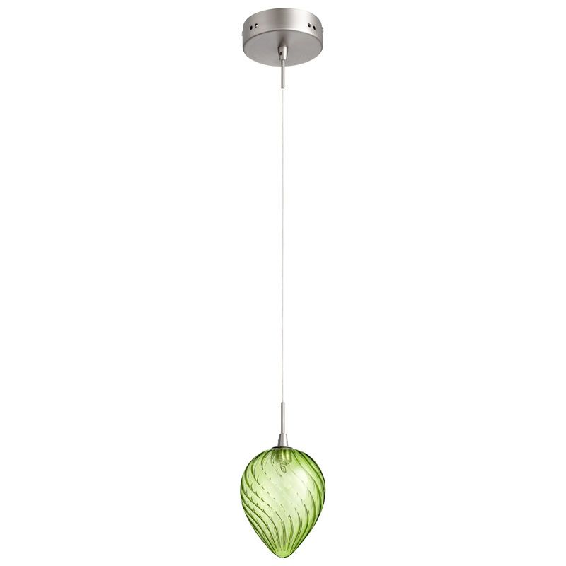 Cyan Design Spheroid Pendant Spheroid 1 Light Pendant with Clear Shade