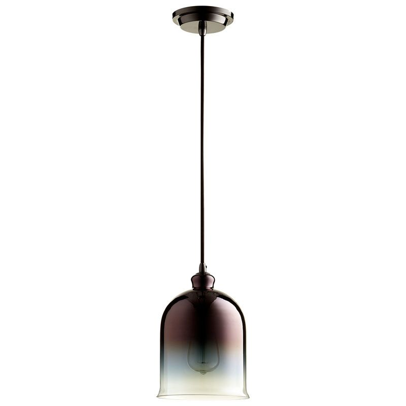 Cyan Design Celia Pendant Celia 1 Light Pendant with Brown Shade