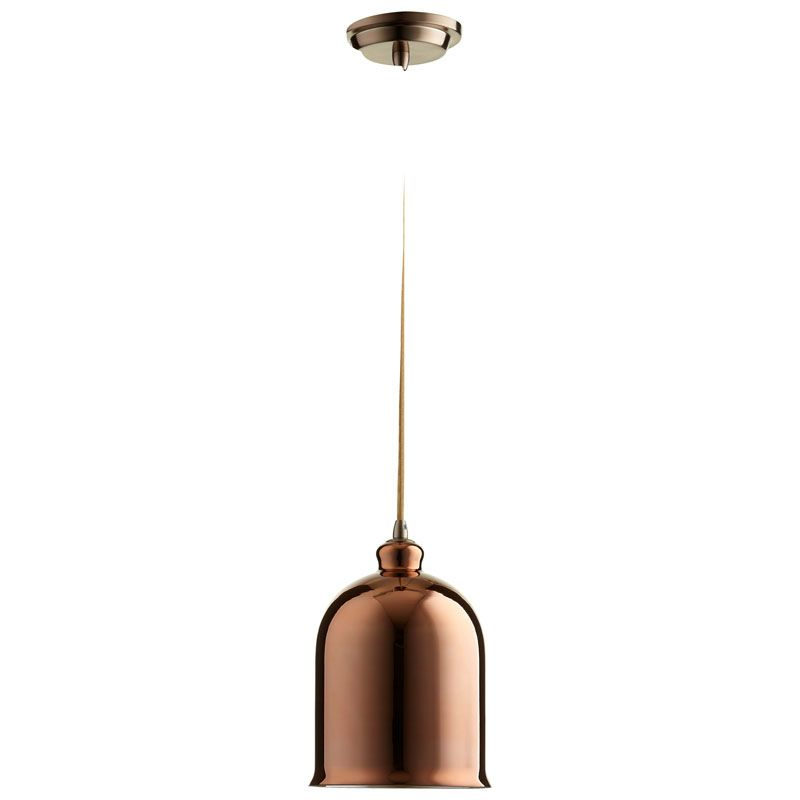 Cyan Design Celia Pendant Celia 1 Light Pendant with Brown Shade Satin