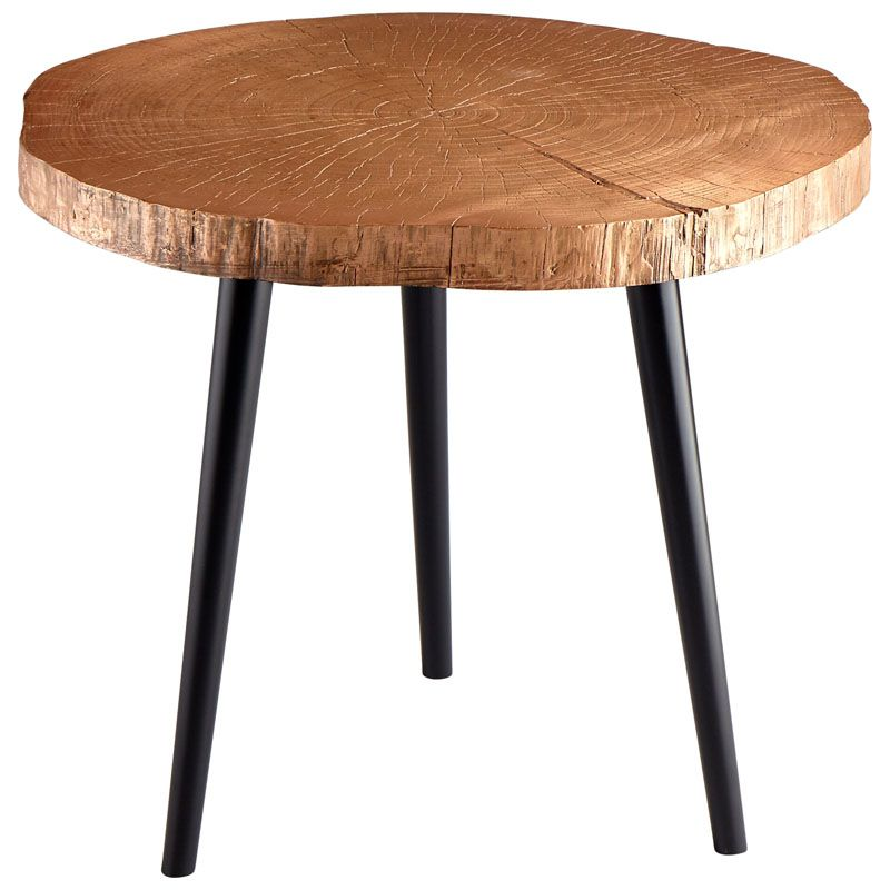Cyan Design Timber Side Table Timber 27.25 Inch Diameter Wood Side