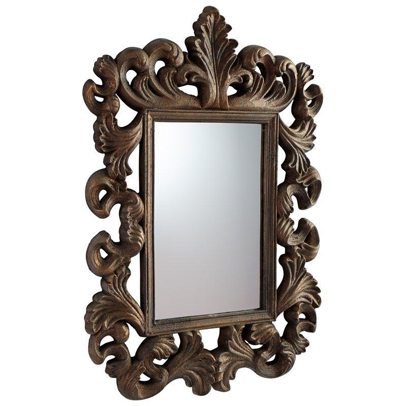 Cyan Design Verona Mirror 44.75 x 30.5 Verona Rectangular Foam Frame