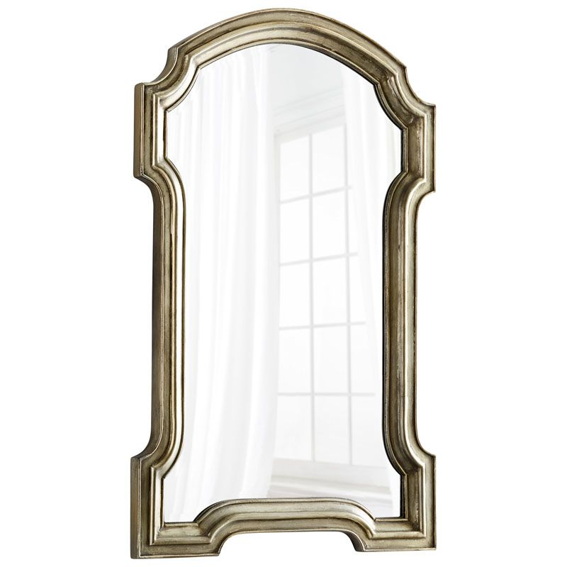 Cyan Design Baird Mirror 50.5 x 31.5 Baird Arched Wood Frame Mirror