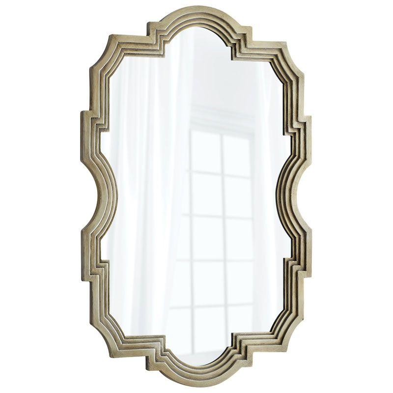 Cyan Design Bancroft Mirror 47.25 x 31.5 Bancroft Specialty Wood Frame