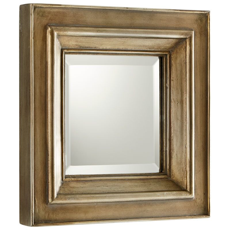 Cyan Design Barclay Mirror 18 x 18 Barclay Square Wood Frame Mirror