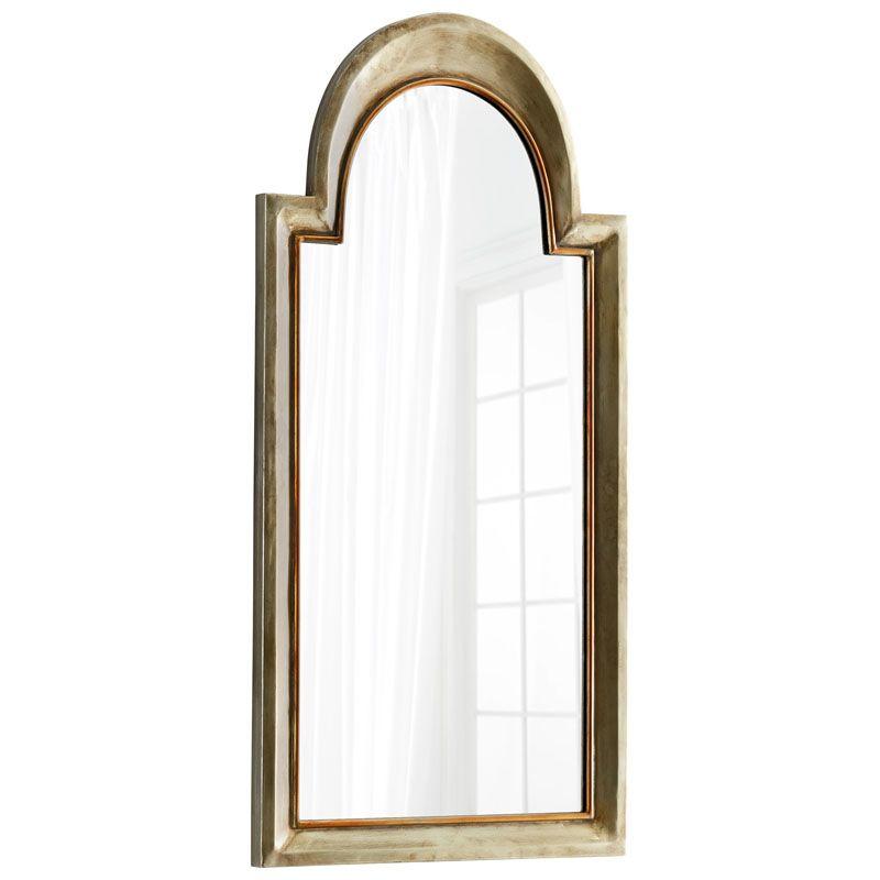 Cyan Design Barlow Mirror 44.75 x 22 Barlow Arched Iron and Wood Sale $430.00 ITEM#: 2867702 MODEL# :7915 UPC#: 190808010643 :