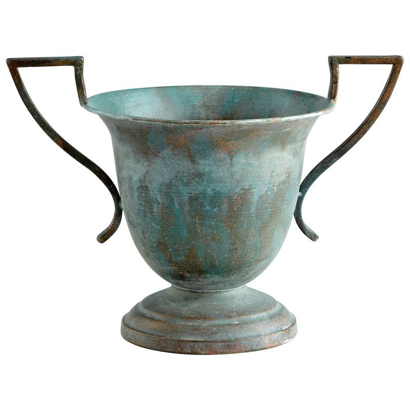 Cyan Design Garland Planter Garland 10 Inch Tall Iron Planter Zinc