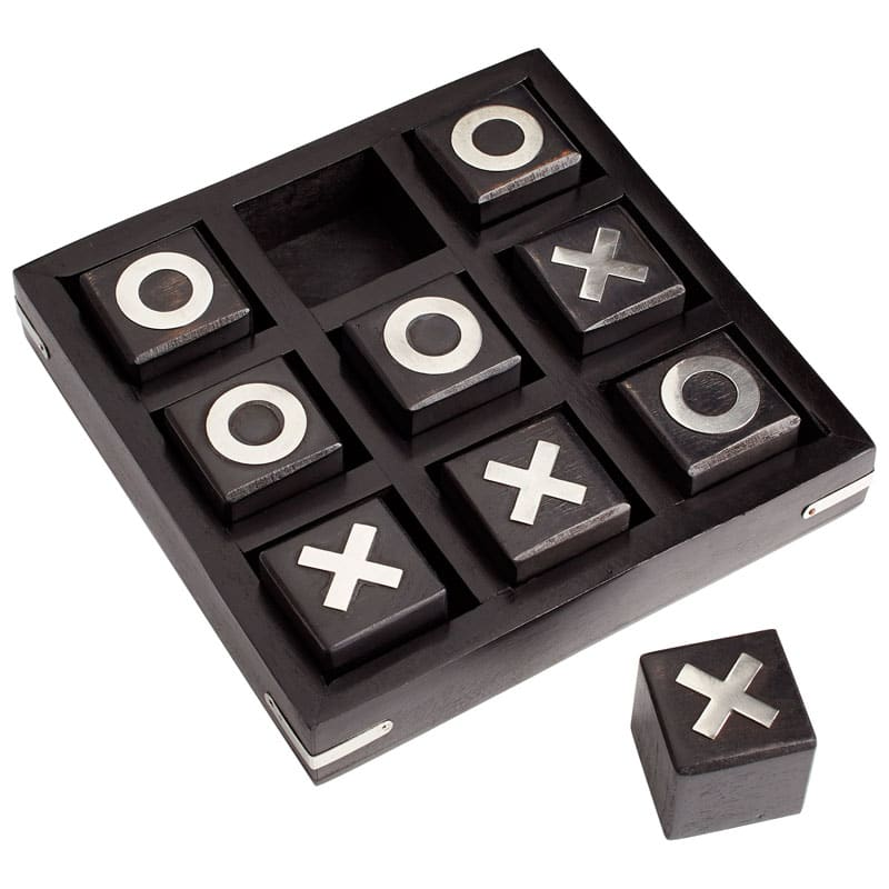 Cyan Design Cats Game Cats Game Set Made of Wood Black and White Home