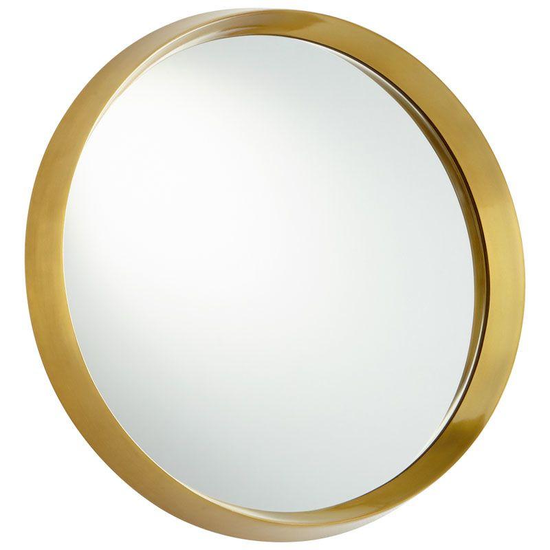 Cyan Design Glossy Boss Mirror 7 Inch Diameter Glossy Boss Aluminum Sale $442.50 ITEM#: 2868048 MODEL# :8124 UPC#: 190808008114 :