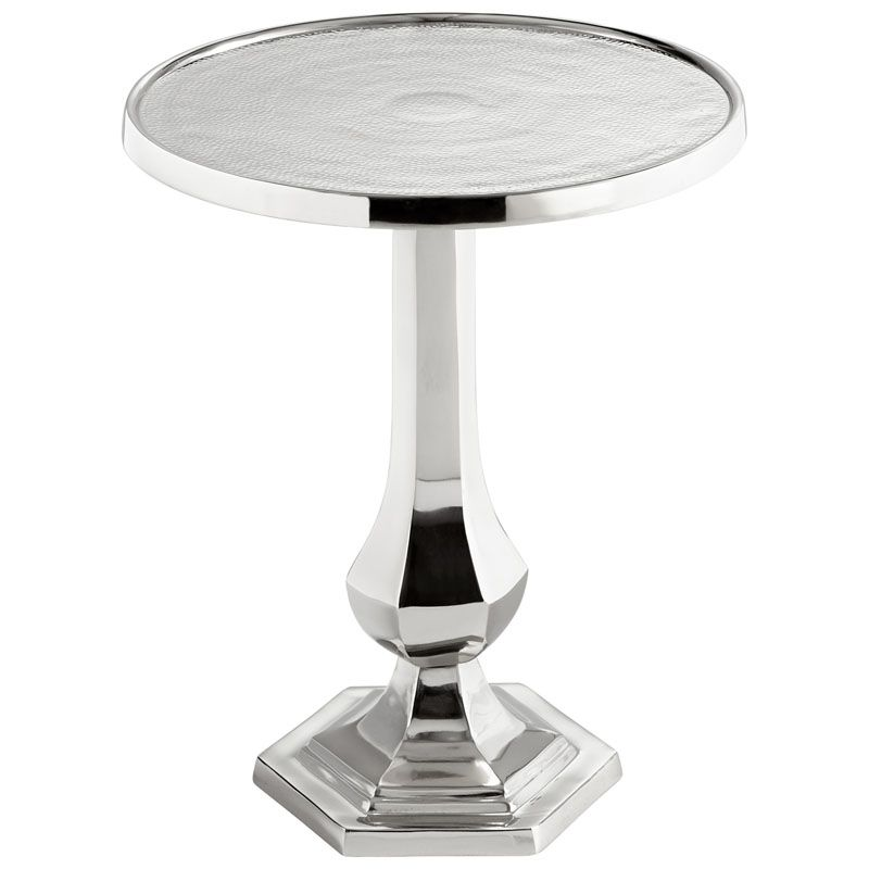 Cyan Design Old Sport Side Table Old Sport 20 Inch Diameter Aluminum