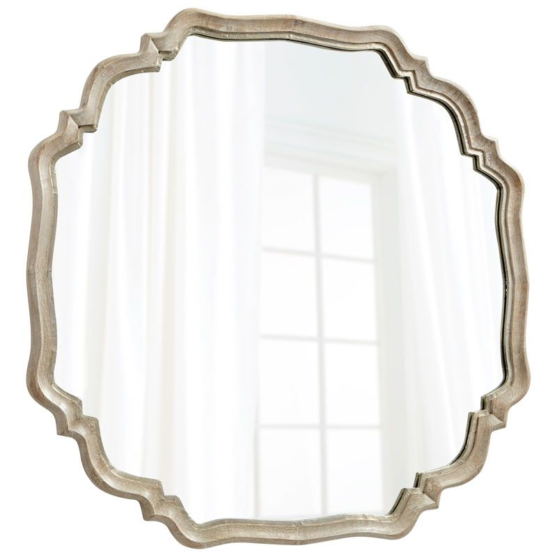 Cyan Design Medallion Mirror 47.75 x 48 Medallion Octagonal Iron Frame