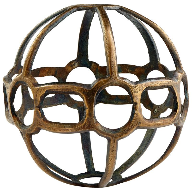 Cyan Design Large Breezy Ball Filler 9.75 Inch Diameter Bowl and Vase