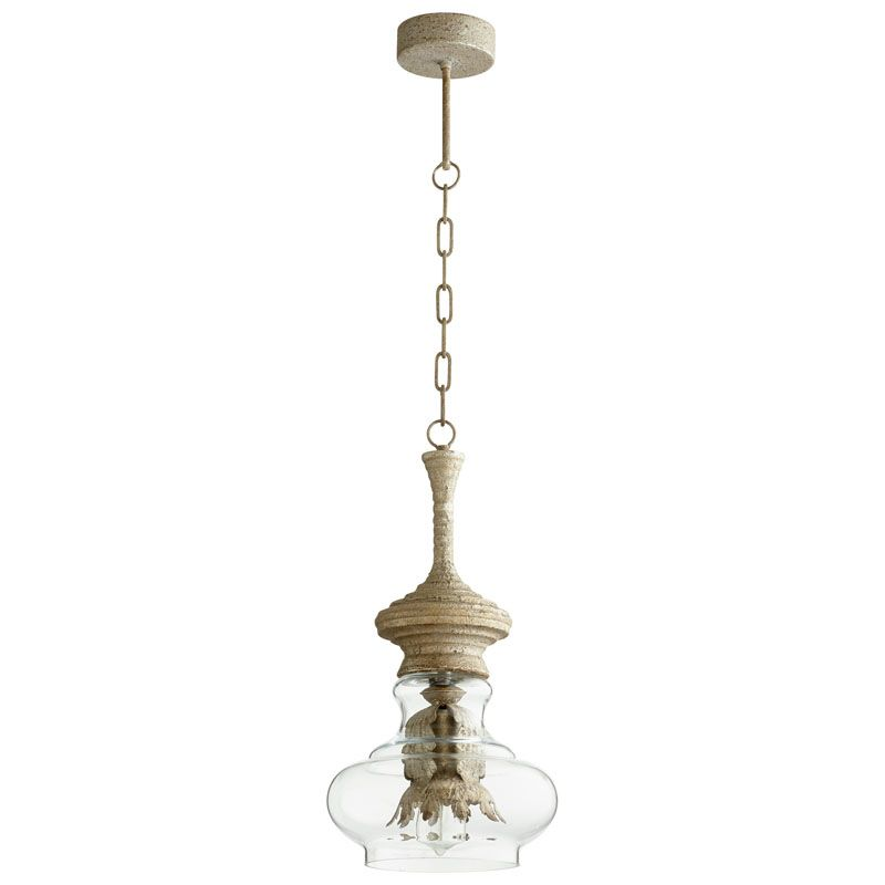 Cyan Design Dresden Pendant Dresden 1 Light Pendant with Clear Shade