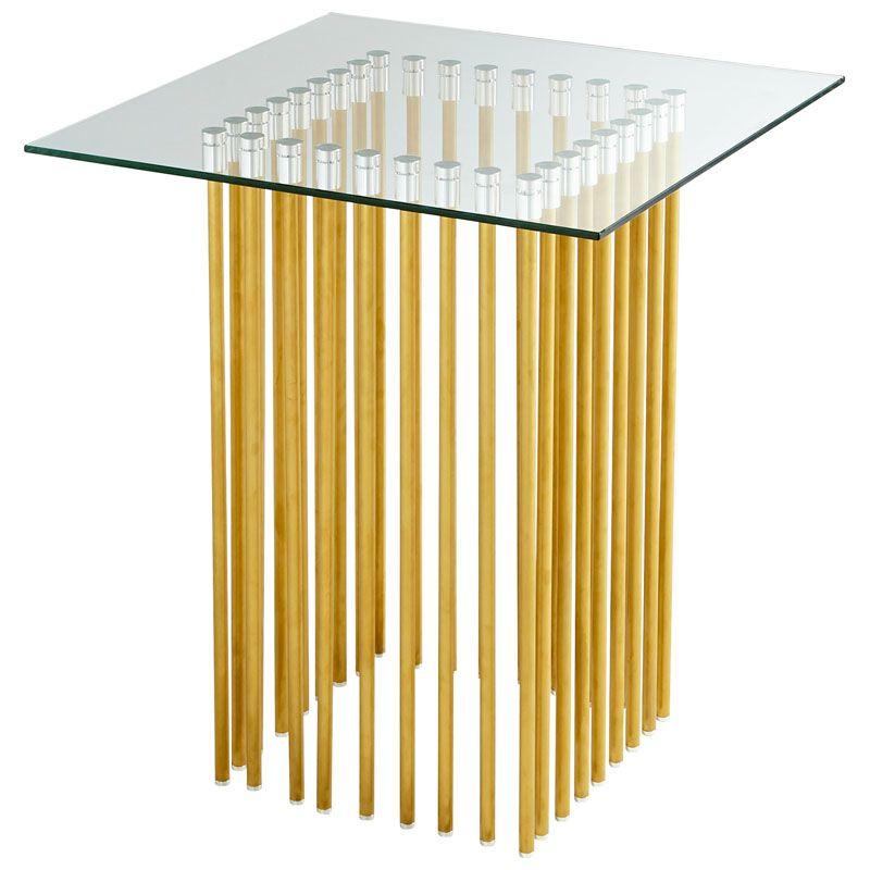 Cyan Design Corzetti Table Corzetti 23.5 Inch Long Stainless Steel and