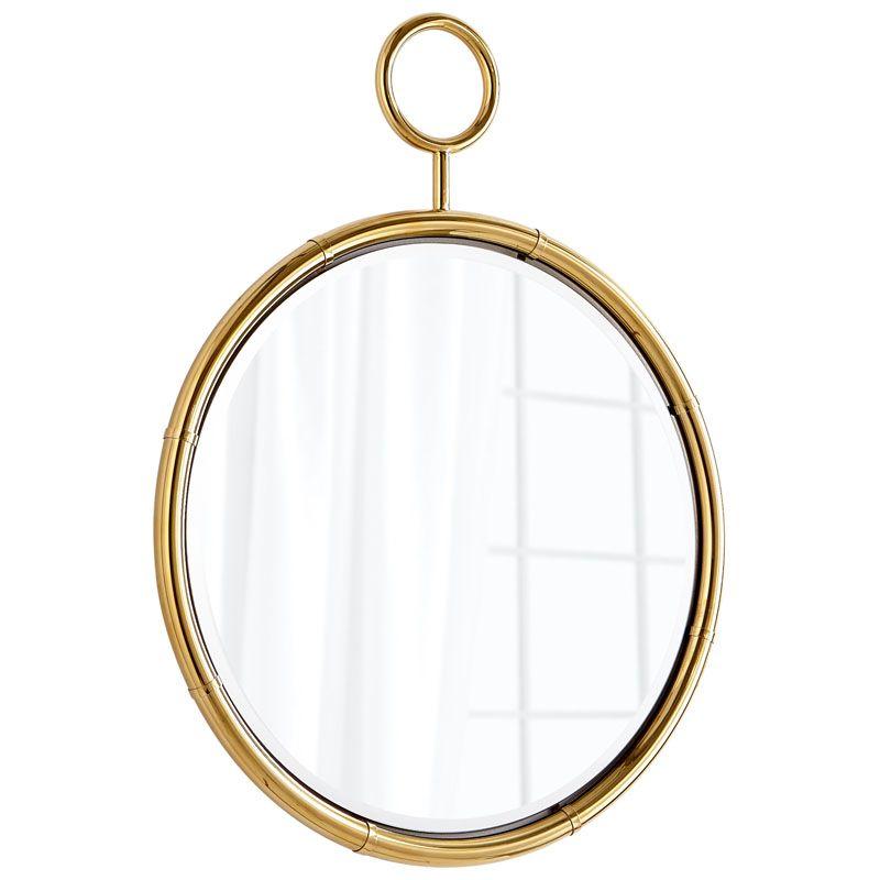 Cyan Design Circular Mirror 27 Inch Diameter Circular Iron and Glass