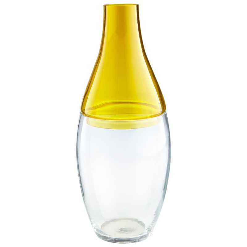 Cyan Design Large Mellow Yellow Vase Mellow Yellow 16.5 Inch Tall