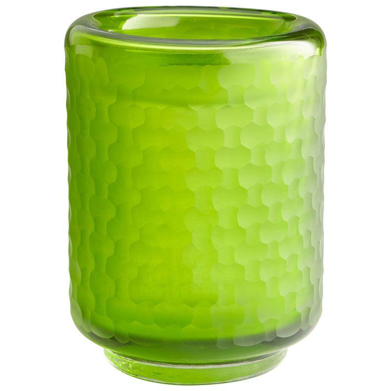 Cyan Design Small Lemon Lime Vase Lemon Lime 7.75 Inch Tall Glass Vase