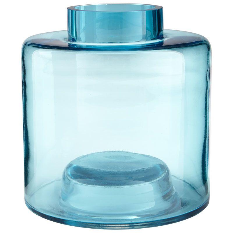 Cyan Design Medium Wishing Well Vase Wishing Well 8.5 Inch Tall Glass