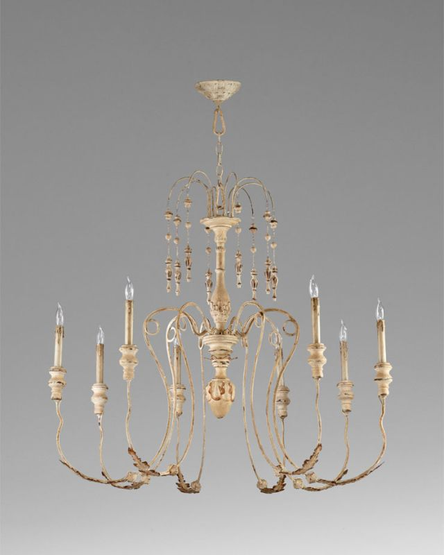 Cyan Design 04638 8 Light Up Lighting Chandelier from the Maison