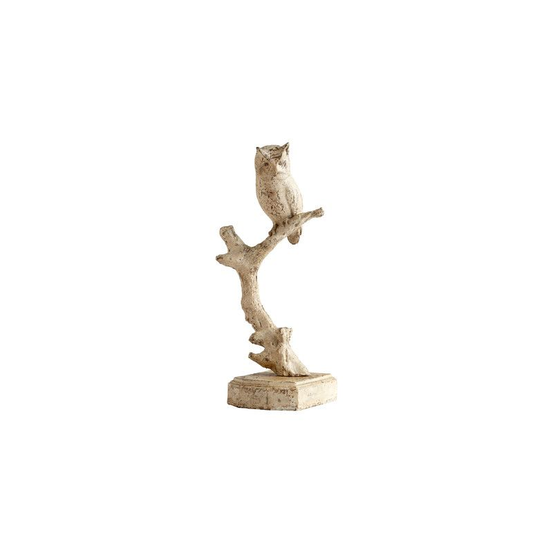 "Cyan Design 05960 21"" Woodland Wisdom Sculpture Rustic Home Decor"