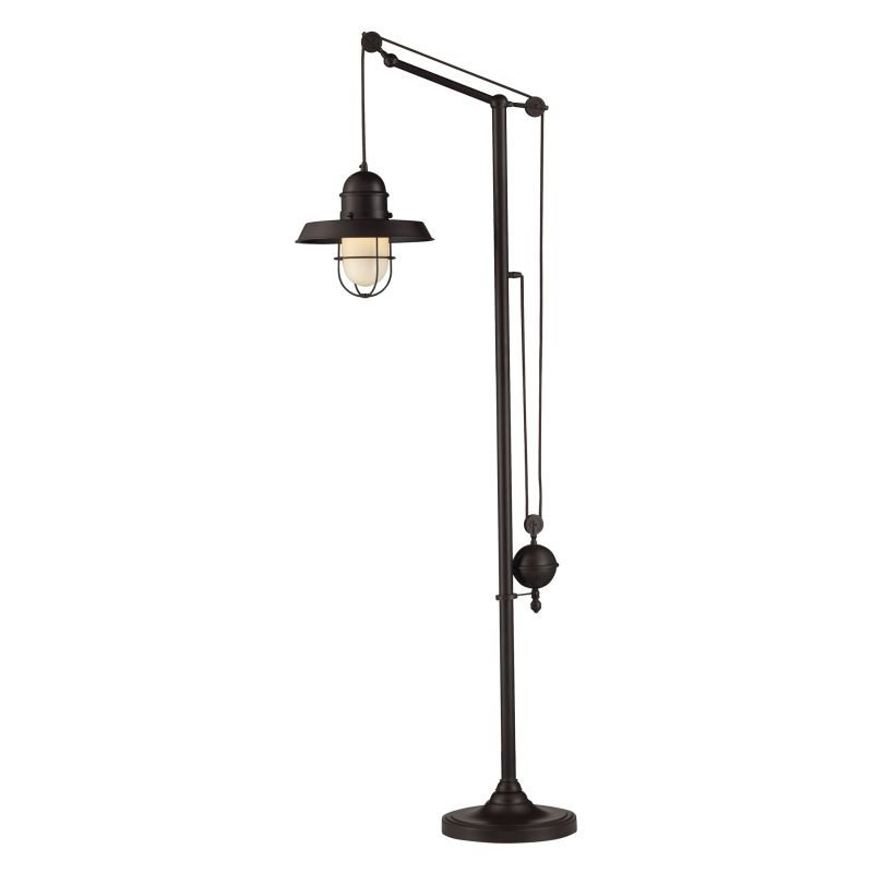 ELK Lighting 65073-1 Farmhouse Single-Light Floor Lamp Oiled Bronze