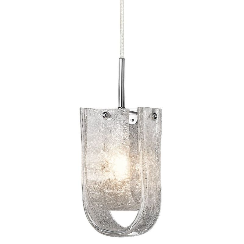 Elan Zanne Mini Pendant Zanne Mini Pendant Chrome Indoor Lighting