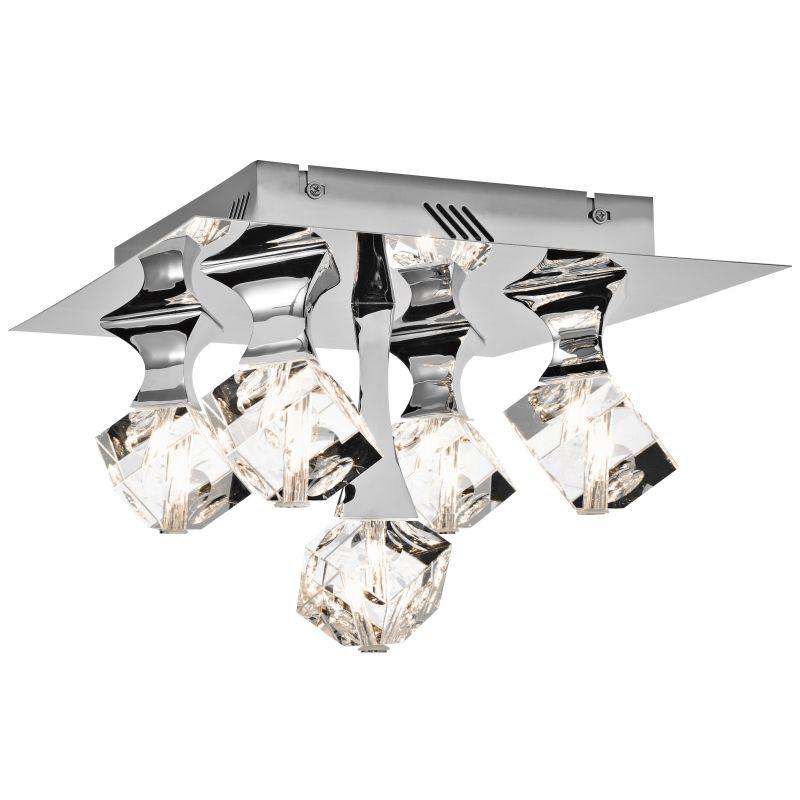 Elan Rockne Flushmount Rockne Flushmount Chrome Indoor Lighting Flush Sale $440.00 ITEM#: 2781306 MODEL# :83129 UPC#: 887913831293 :