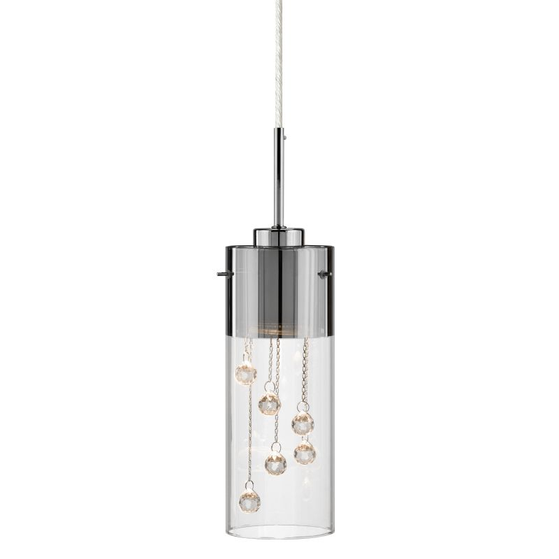 Elan Shayla Mini Pendant Shayla Mini Pendant Chrome Indoor Lighting