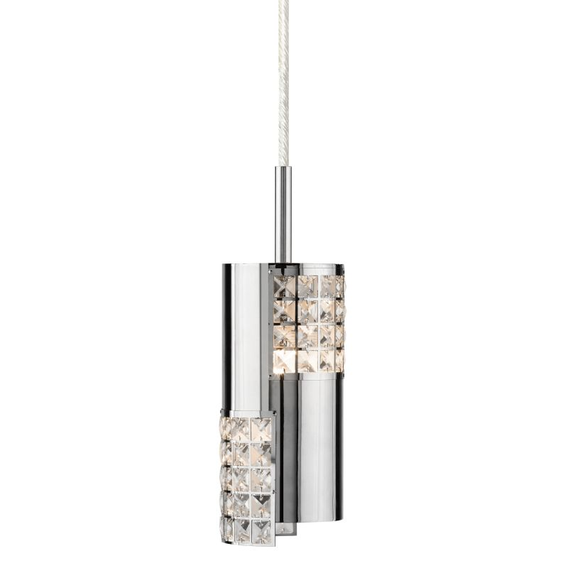 Elan Daudet Mini Pendant Daudet Mini Pendant Chrome Indoor Lighting