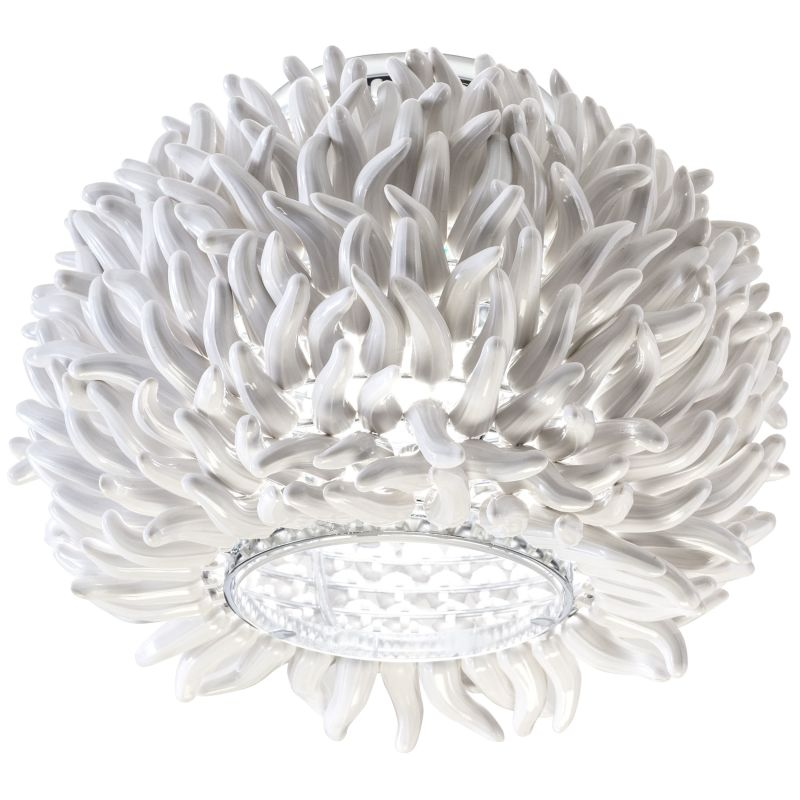 Elan Anemone Flushmount Anemone Flushmount Chrome Indoor Lighting