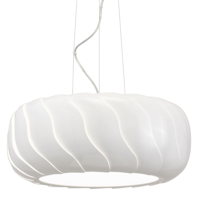 Elan Belize Pendant Belize Pendant White Indoor Lighting