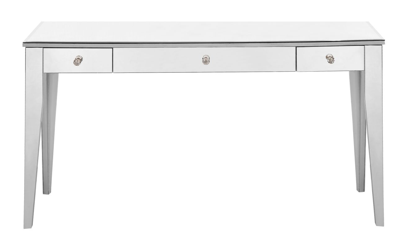 Elegant Lighting MF6-1030 Chamberlan 55 Inches Wide Hand Painted Desk