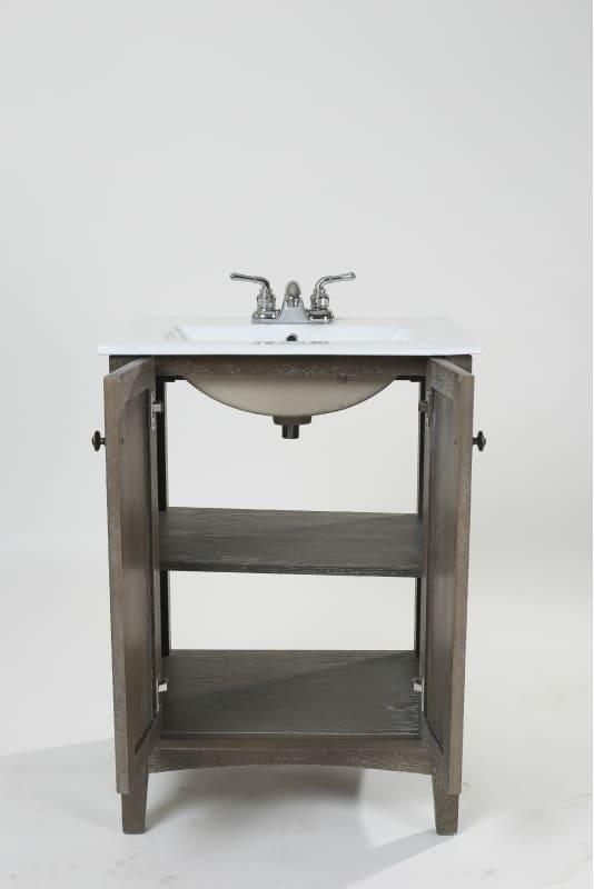 Elegant Lighting VF-2004 Danville 24 Inches Wide Freestanding Vanity Sale $368.00 ITEM#: 2976410 MODEL# :VF-2004 UPC#: 848145085670 :