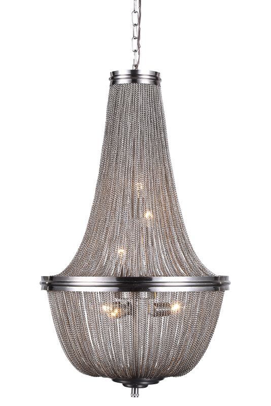 "Elegant Lighting 1210D17 Paloma 17"" Wide 6 Light Pendant from the"