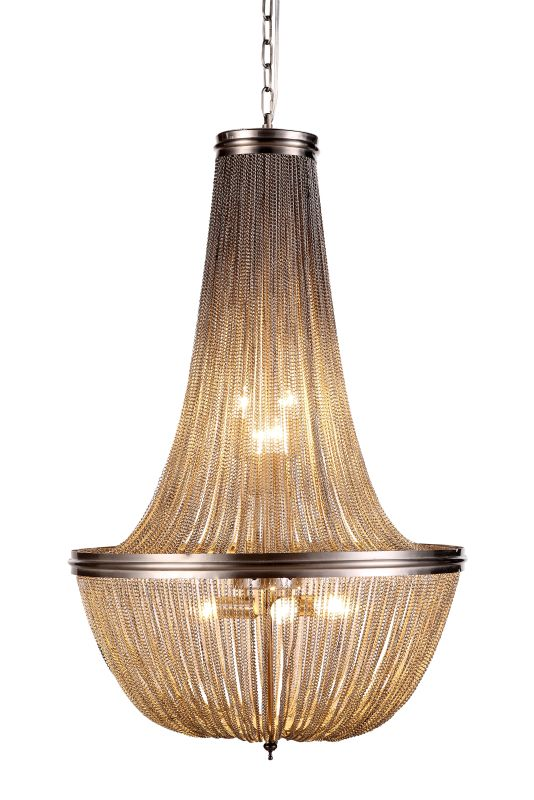 "Elegant Lighting 1210D21 Paloma 21"" Wide 6 Light Pendant from the"