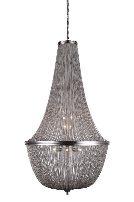 "Elegant Lighting 1210D30 Paloma 30"" Wide 10 Light Pendant from the"