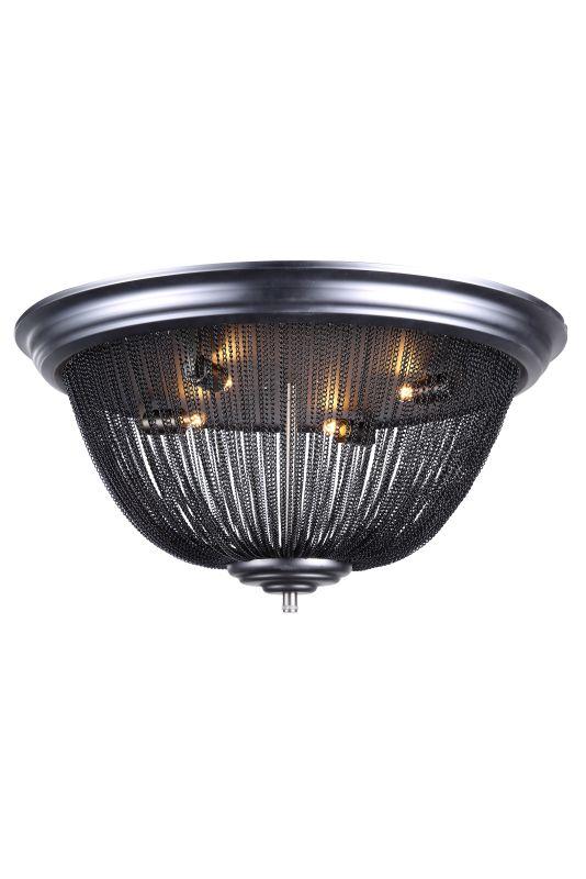 """Elegant Lighting 1210F24 Paloma 24"""" Wide 4 Light Flush Mount Ceiling"""