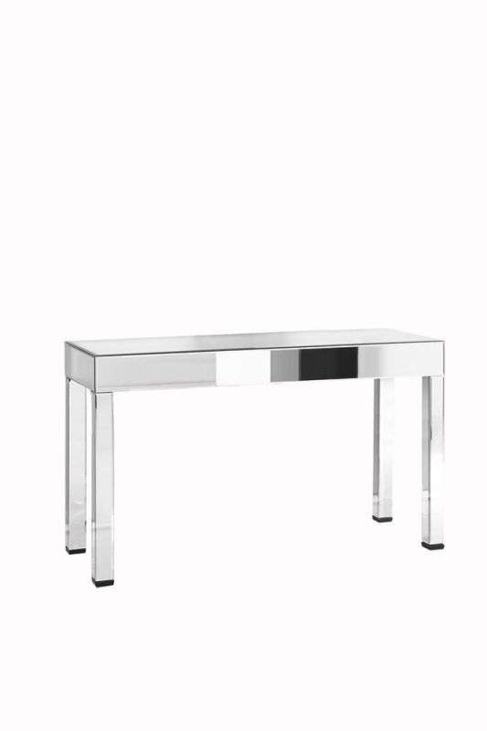 "Elegant Lighting MF-3016 20"" Wide Console Table with Mirrored Finish"