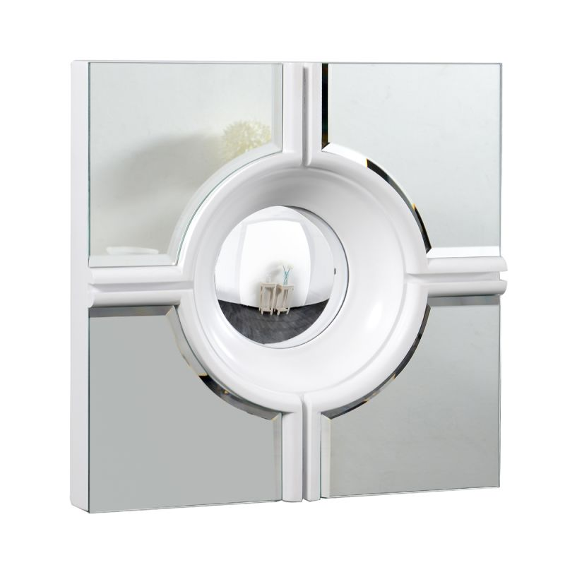 """Elegant Lighting MR-3018 24"""" Wide Mirror from the Modern Collection Sale $115.20 ITEM#: 2795231 MODEL# :MR-3018W UPC#: 848145011594 :"""