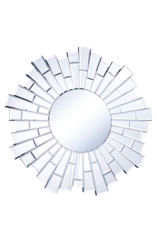 "Elegant Lighting MR-3031 32"" Wide Mirror from the Modern Collection Sale $153.60 ITEM#: 2795233 MODEL# :MR-3031 UPC#: 848145011617 :"