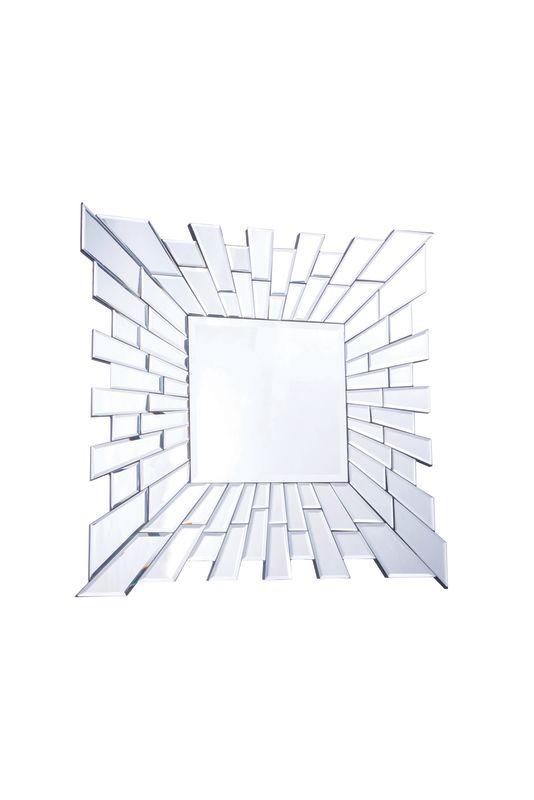"Elegant Lighting MR-3034 24"" Wide Mirror from the Modern Collection Sale $115.20 ITEM#: 2795236 MODEL# :MR-3034 UPC#: 848145011648 :"