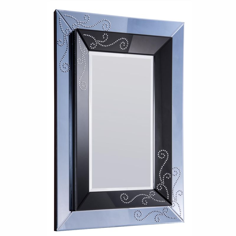 "Elegant Lighting MR-3154 39"" Wide Mirror from the Modern Collection Sale $216.00 ITEM#: 2795257 MODEL# :MR-3154 UPC#: 848145011853 :"