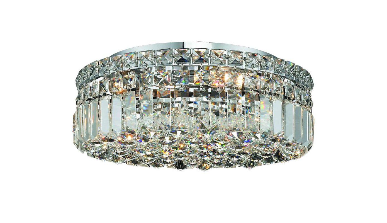 Elegant Lighting 2030F16C Maxim 5-Light Single-Tier Flush Mount Sale $2490.00 ITEM#: 2013368 MODEL# :2030F16C/SA UPC#: 848145038843 :