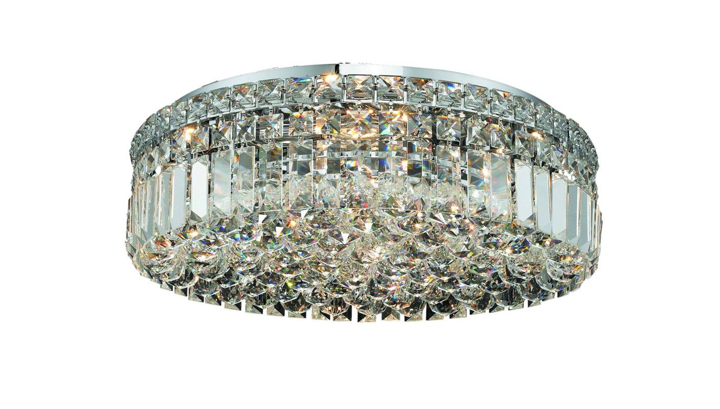 Elegant Lighting 2030F20C Maxim 6-Light Single-Tier Flush Mount Sale $3062.00 ITEM#: 2013372 MODEL# :2030F20C/SA UPC#: 848145038881 :