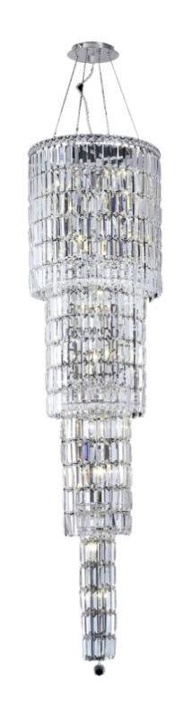 Elegant Lighting 2030G66C Maxim 18-Light Four-Tier Crystal Sale $6438.00 ITEM#: 2013386 MODEL# :2030G66C/SA UPC#: 848145039062 :