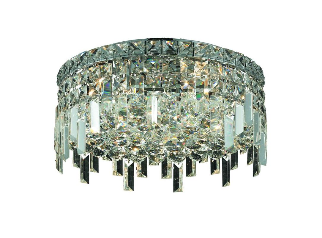 Elegant Lighting 2031F16C Maxim 5-Light Single-Tier Flush Mount