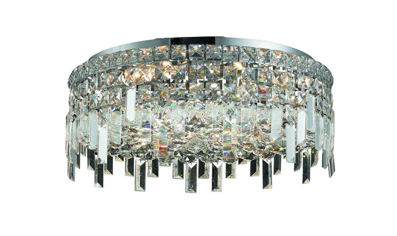 Elegant Lighting 2031F20C Maxim 6-Light Single-Tier Flush Mount Sale $3202.00 ITEM#: 2013434 MODEL# :2031F20C/SA UPC#: 848145039581 :